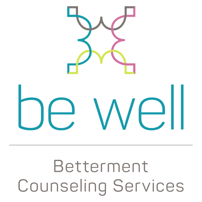 Be Well | Betterment Counseling Services Retina Logo