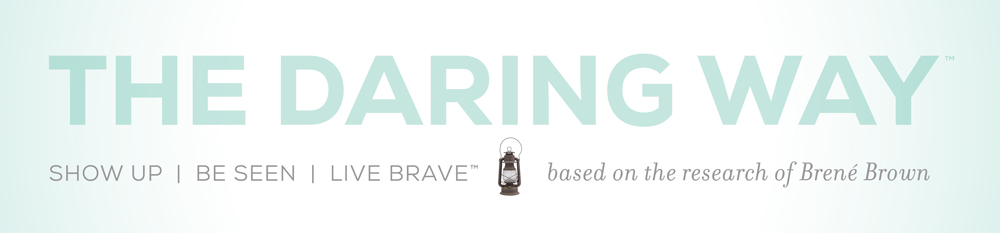 Colleen Kradel, Brené Brown's The Daring Way